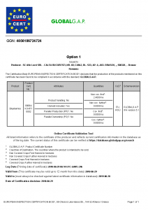 Descarcă certificarea GGN de la GLOBAL G.A.P.